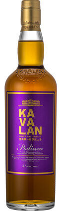 KAVALAN Single Malt Whisky Podium