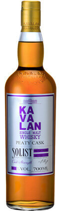 KAVALAN Single Malt Whisky Solist Peaty