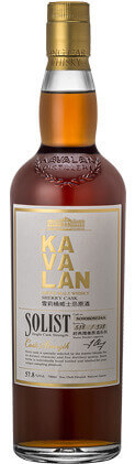 KAVALAN Single Malt Whisky Solist Sherry